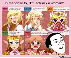 Zelda Reaction Memes images via Relatably.com