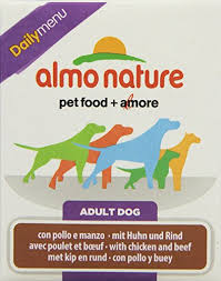 <b>Almo Nature Dog</b> Food <b>Daily</b> Menu with Chi- Buy Online in ...