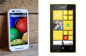 Lumia 520 vs Motorola Moto E smartphone comparison review - PC ...