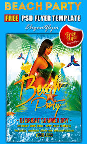 15 beach party flyer psd templates designyep beach party psd flyer template