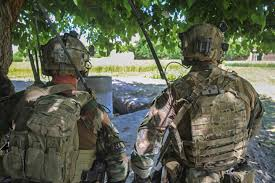 u s department of defense photo essay u s special forces iers watch as afghan army special forces and commandos prepare to clear a