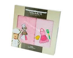 <b>Набор</b> махровых <b>кухонных полотенец Yagmur</b> 4 — купить в ...