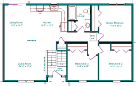 Basement entry house floor plansbasement entry house floor plans