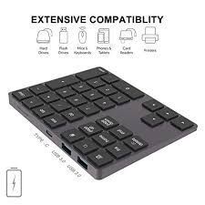 Ovegna CL8 Wireless <b>Bluetooth Keyboard Portable Foldable</b> for ...