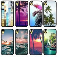 Summer <b>Nature</b> Aloha Palm Trees PC <b>TPU Hard</b> Plastic Back Case ...