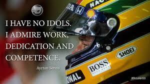 Supreme 7 admired quotes by ayrton senna image Hindi via Relatably.com