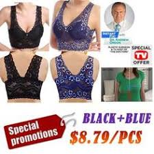 2019 Hot Selling TV Products* Extra-elastic Air Permeable Lace Bra ...