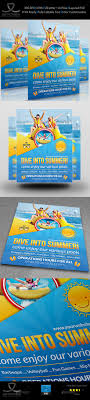 aqua park flyer template by owpictures graphicriver aqua park flyer template holidays events