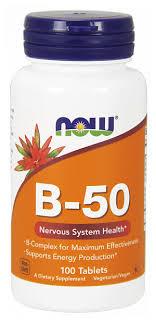 <b>B</b>-<b>50</b> комплекс now таб. 950мг №<b>100</b> — купить по выгодной цене ...