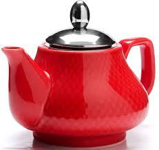 "<b>Чайник заварочный</b> ""<b>Loraine</b>"", цвет: красный, 750 мл. 26593 ..."