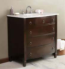 dual vanity bathroom:  bathroom wonderful vanities and vanity cabinet dark brown wooden tiered storage drawers white granite top undermount
