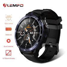 <b>LEMFO LEM12 Smart</b> Watch <b>4G</b> Face ID