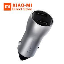 Xiaomi <b>ZMI Car</b> Charger 18W Dual USB Quick Charge 3.0 Fast ...