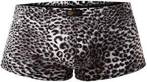 <b>Men's Boxer</b> Briefs Low Rise <b>Sexy Leopard</b> Print <b>Underwear Man</b> ...