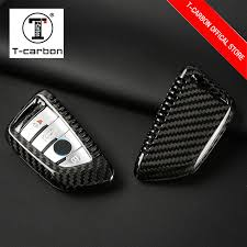 <b>Car Styling Carbon Fiber</b> Car Key Case For BMW 1 2 3 4 5 6 7 ...