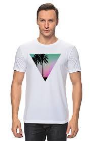 Футболка классическая <b>Miami Triangle</b> #705478 от mecrag по ...