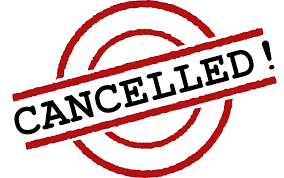 Image result for movie afternoon canceled sign
