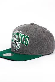 <b>Бейсболка MITCHELL&NESS Boston Celtics</b> EU119 (Grey, O/S ...