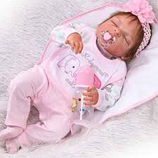 "Amazon.com: ZIYIUI 23"" Full Body <b>Silicone Vinyl Reborn Doll</b> ..."