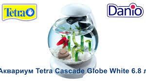 <b>Аквариум Tetra Cascade</b> Globe White 6.8 литров - YouTube