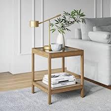 Nathan James Hayes Solid Wood Nightstand ... - Amazon.com