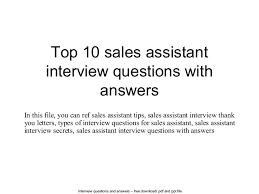 administrative assistant interview questions and answers doc administrative assistant interview questions and answers 27 04 2017