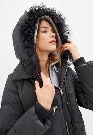 Женский зимний серый пуховик Max & Co. 64845219 - цена ...
