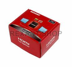 Делитель сигнала <b>Rexant</b> Делитель <b>HDMI</b> 1x2 17-6901
