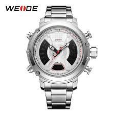 <b>WEIDE New Arrival</b> Top Luxury Brand Analog Digital Dual Display ...