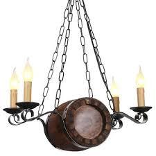 <b>Потолочный светильник Бочонок</b> коричневого цвета — купить по ...