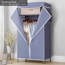 <b>3 Tier</b> Storage Shelf <b>Clothing Rack Clothes Closet Wardrobe</b> for ...