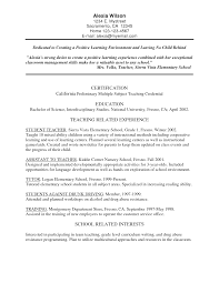 high school teacher resume english teacher resume combination elementary education resume