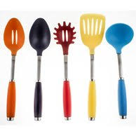 kitchen utensil:  piece utensil set with crock