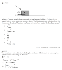 learn ap physics physics 1 and 2 newton s laws of motion solution