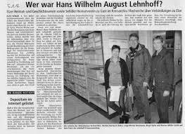 LDZ 5.1.2012 Beermann Werner, Bettina Bartosch, Birgit Opitz ... - LDZ%205.1.2012%20Beermann%20Werner,%20Bettina%20Bartosch,%20Birgit%20Opitz%20Kreisarchiv%20Archiv%20Hildesheim,%20Lehnhoff