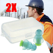 <b>1Pair Noise Cancelling</b> Ear Plugs Hearing Protection For Sleeping ...
