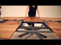 amazing new extendable table by ozzio italian space saving furniture amazing space saving furniture