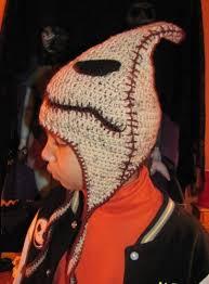 <b>Nightmare</b> Before <b>Christmas Scary</b> Teddy Hat Custom Crocheted ...