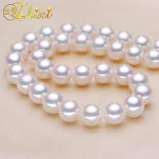 Buy ZHIXI Freshwater Pearl Necklace Fine Jewelry ... - Aliexpress.com