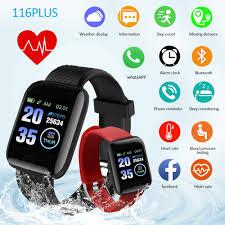 <b>116 Plus</b> Smart Watch Heart Rate Watch Smart <b>Wristband Sports</b> ...