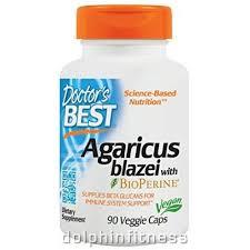 Doctor's Best <b>Agaricus Blazei with BioPerine</b> (90 Veggie Caps)