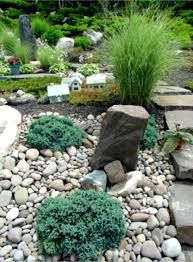river rock landscape ideas home decorating and tips natural landscaping backyard landscaping ideas rocks
