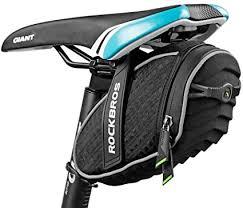 ROCKBROS <b>Bike</b> Seat <b>Bag Waterproof</b>, <b>Bicycle Saddle Bag</b> Under