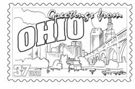 Small Picture Ohio State Symbols Coloring Page Free Printable Coloring Pages