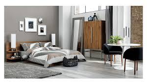 andes acacia queen bed bedroom furniture cb2
