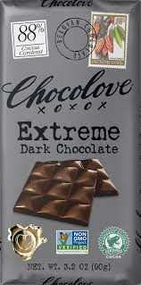 <b>Extreme Dark Chocolate</b> - Chocolove - Premium Chocolate