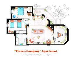 of Our Favorite TV Shows Home  amp  Apartment Floor Plans   Design Milk of Our Favorite TV Shows Home  amp  Apartment Floor Plans