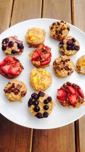 21 Day Fix Baked Oatmeal Cups - Confessions of a Fit Foodie
