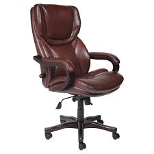 serta eco friendly bonded leather executive big tall office chair dark redwood office chairs at hayneedle big office chairs big tall