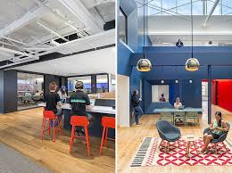 view in gallery bright colors and beautiful pendant lights enliven the beats headquarters beats by dre office